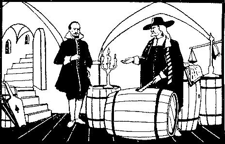 Кеплер и виноторговец